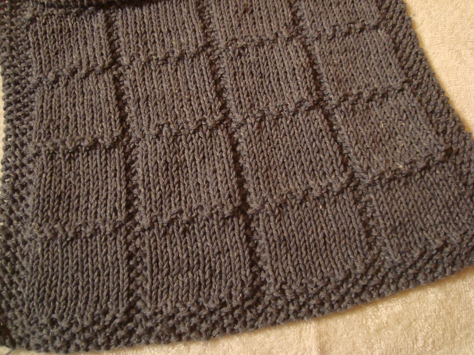 Knitted Chevron Baby Blanket Pattern : I-need-a-break-from-Christmas-knitting-hand-towel-pattern